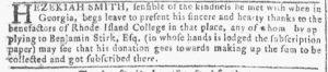 Apr 25 - 4:25:1770 Georgia Gazette