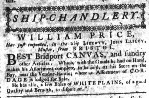 Apr 4 - 4:4:1770 South-Carolina Gazette Supplement