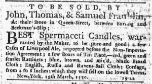 Apr 8 - 4:5:1770 New-York Journal