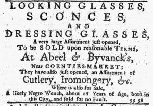 Dec 13 1770 - New-York Journal Slavery 1