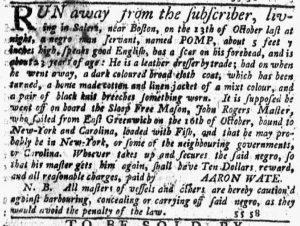 Dec 13 1770 - New-York Journal Slavery 2