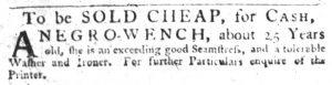 Dec 13 1770 - South-Carolina Gazette Slavery 6