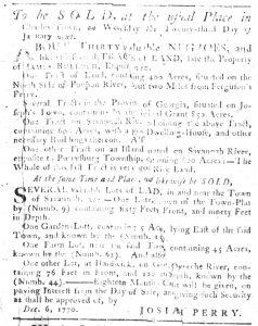 Dec 13 1770 - South-Carolina Gazette Slavery 8