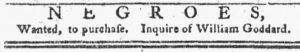 Dec 17 1770 - Pennsylvania Chronicle Slavery 1