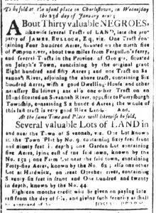 Dec 19 1770 - South-Carolina and American General Gazette Slavery 8