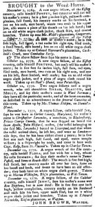Dec 25 1770 - South-Carolina Gazette and Country Journal Slavery 13