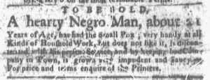 Dec 3 1770 - Boston-Gazette Slavery 2