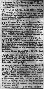 Dec 4 1770 - South-Carolina Gazette and Country Journal Supplement Slavery 3
