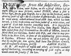 Dec 6 1770 - New-York Journal Slavery 4