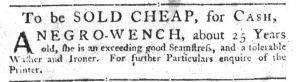 Dec 6 1770 - South-Carolina Gazette Slavery 6