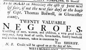 May 3 1770 - Virginia Gazette Rind Slavery 3