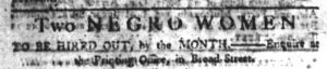 May 4 1770 - South-Carolina Gazette Slavery 11