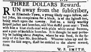 Nov 1 1770 - New-York Journal Slavery 1