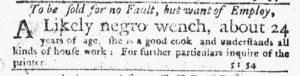 Nov 1 1770 - New-York Journal Slavery 2