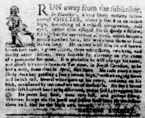 Nov 1 1770 - Virginia Gazette Purdie & Dixon Slavery 12
