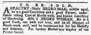 Nov 12 1770 - Pennsylvania Chronicle Slavery 2
