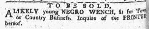 Nov 12 1770 - Pennsylvania Chronicle Slavery 3