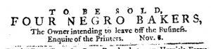 Nov 15 1770 - Pennsylvania Journal Slavery 2