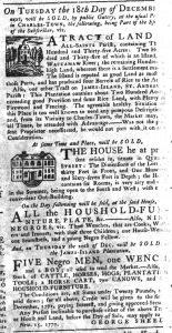 Nov 15 1770 - South-Carolina Gazette Slavery 4
