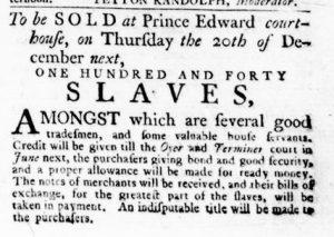 Nov 15 1770 - Virginia Gazette Rind Slavery 4