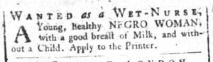 Nov 20 1770 - South-Carolina and American General Gazette Slavery 5