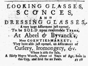Nov 22 1770 - New-York Journal Slavery 1
