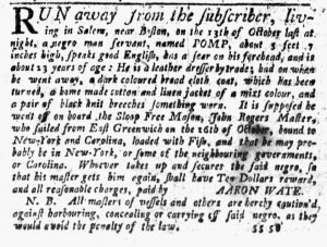 Nov 22 1770 - New-York Journal Slavery 3