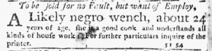 Nov 22 1770 - New-York Journal Slavery 6