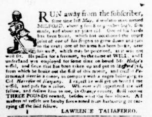 Nov 22 1770 - Virginia Gazette Purdie & Dixon Slavery 1