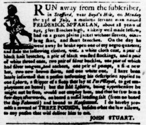 Nov 22 1770 - Virginia Gazette Purdie & Dixon Slavery 2