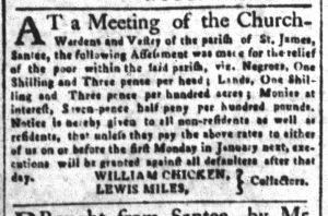 Nov 27 1770 - South-Carolina and American General Gazette Slavery 6