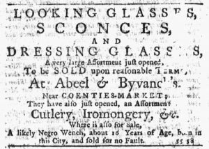 Nov 29 1770 - New-York Journal Slavery 1