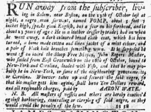 Nov 29 1770 - New-York Journal Slavery 3