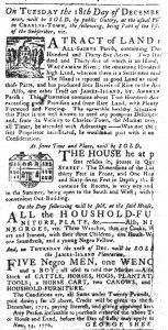 Nov 29 1770 - South-Carolina Gazette Slavery 7