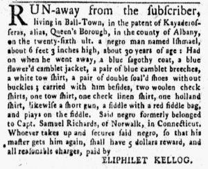 Nov 5 1770 - New-York Gazette and Weekly Mercury Supplement Slavery 5