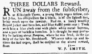 Nov 8 1770 - New-York Journal Slavery 1
