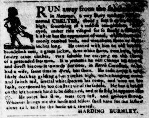 Nov 8 1770 - Virginia Gazette Purdie & Dixon Slavery 10