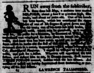Nov 8 1770 - Virginia Gazette Purdie & Dixon Slavery 6