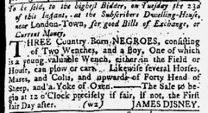 Oct 18 1770 - Maryland Gazette Slavery 2