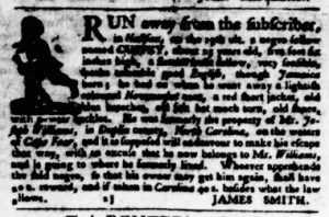 Oct 18 1770 - Virginia Gazette Purdie & Dixon Slavery 2