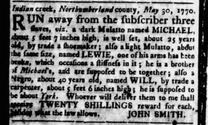 Oct 18 1770 - Virginia Gazette Rind Slavery 3