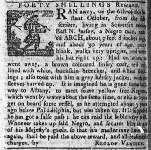 Oct 22 1770 - Pennsylvania Chronicle Slavery 1