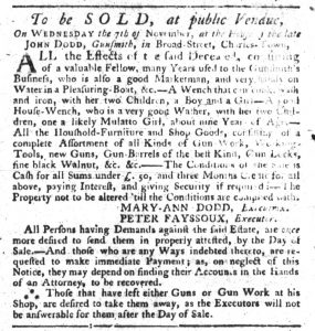 Oct 25 1770 - South-Carolina Gazette Slavery 4
