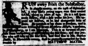 Oct 25 1770 - Virginia Gazette Purdie & Dixon Slavery 3