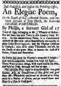 Oct 26 1770 - New-Hampshire Gazette Slavery 1
