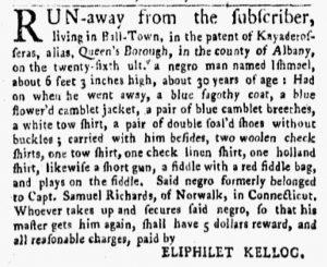 Oct 29 1770 - New-York Gazette and Weekly Mercury Slavery 3