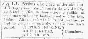 Jun 2 - 6:2:1770 Providence Gazette