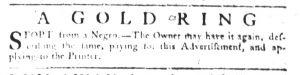 May 10 1770 - South-Carolina Gazette Slavery 12