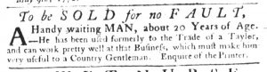 May 10 1770 - South-Carolina Gazette Slavery 3