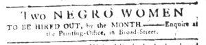 May 10 1770 - South-Carolina Gazette Slavery 6